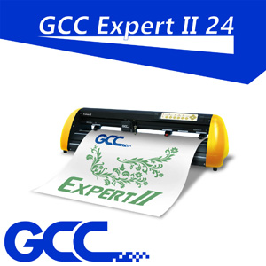 "GCC Expert II 24"" Vinyl cutter plotter w/plug-in software"