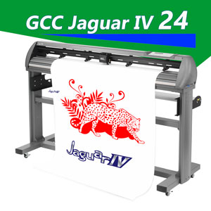"GCC Jaguar IV 24"" vinyl cutter for Thin / Thick Materials"