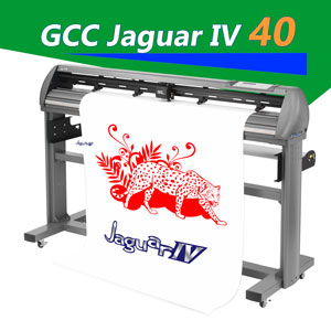"GCC Jaguar IV Cutting Plotter with AAS 40"" MAC/PC"