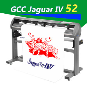 "Jaguar IV 52"" vinyl cutter Plotter w/AAS II (MAC/PC)"