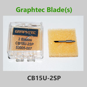 Graphtec vinyl cutter blade 1.5mm 45° w/spring CB15U-2SP(2/pack)