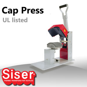 Siser Digital Cap Heat Press UL Approved
