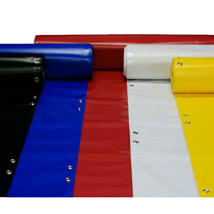 14oz Banner Blanks (Grommeted & Hemmed) 22'' x 12ft