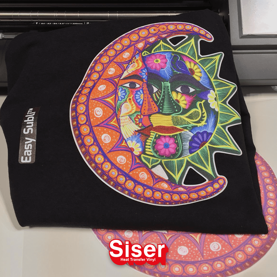 "iser EasySubli Heat Transfer Vinyl 20"" x 5Yd sublimation"